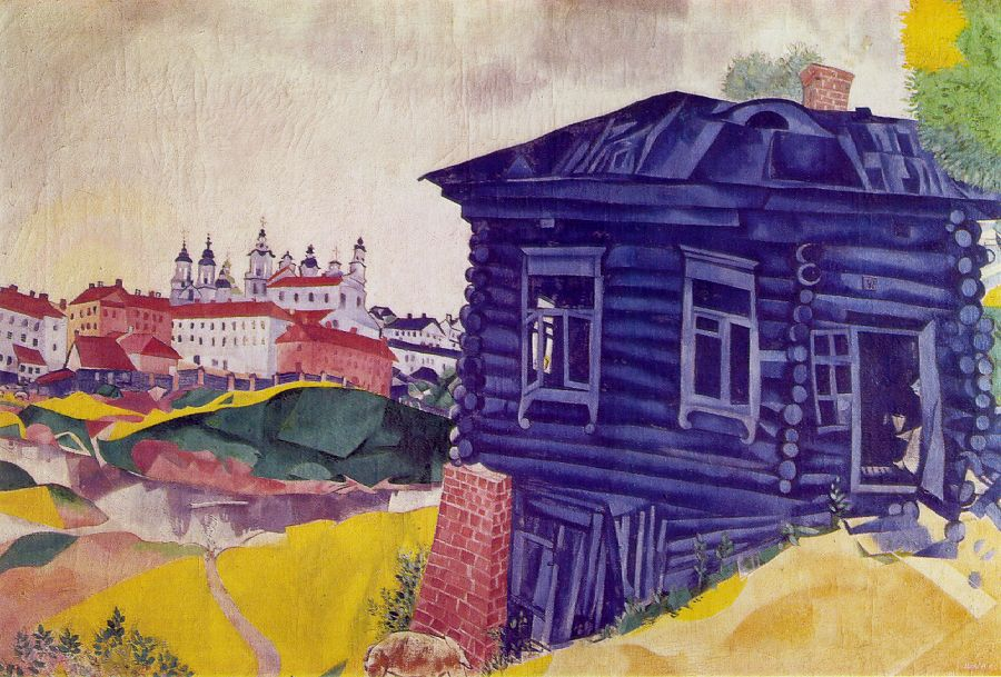 Francophone artists for Marc chagall paris vu de ma fenetre